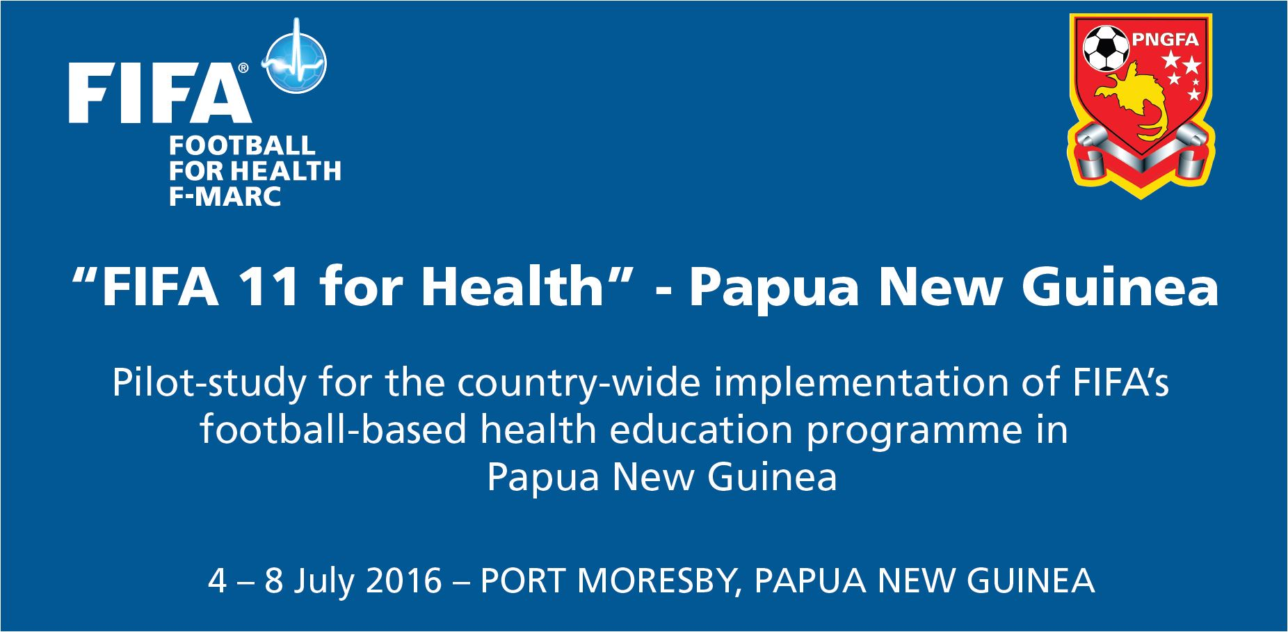 FIFA 11 for Health programme arrives in Papua New Guinea