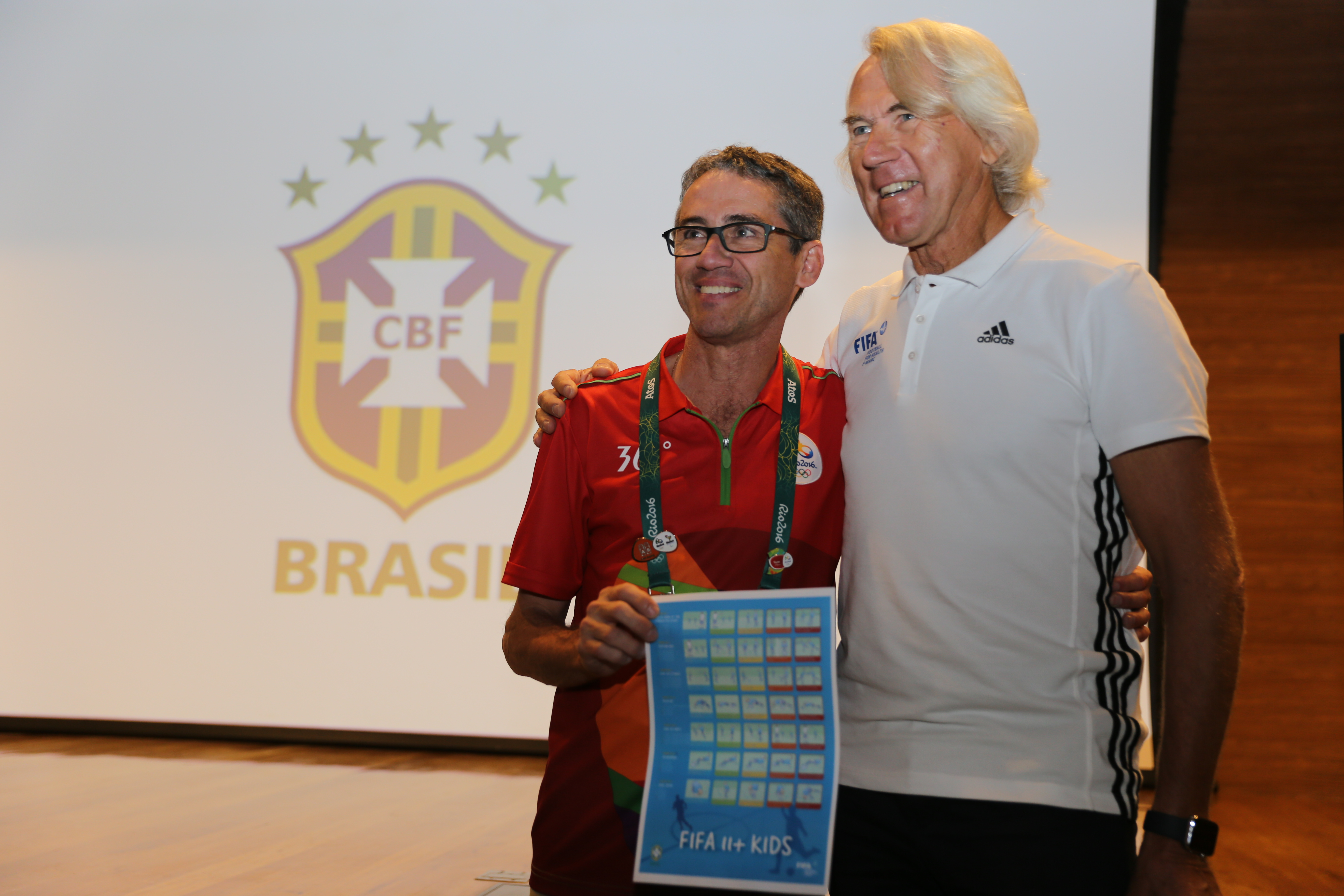 """""""FIFA 11+ Kids"""" launched in Brazil Image"""
