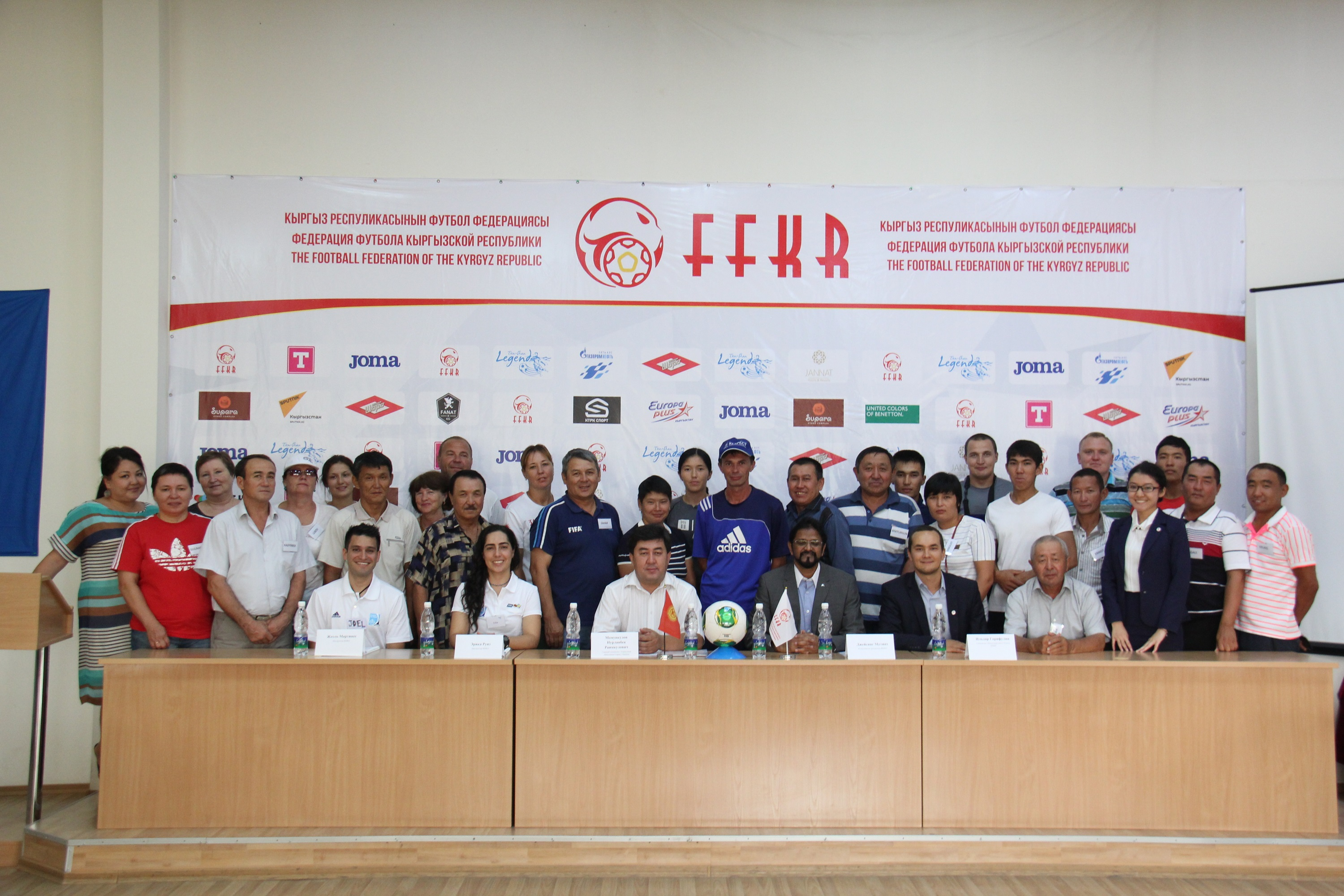 FIFA 11 for Health programme introduced in Central Asia