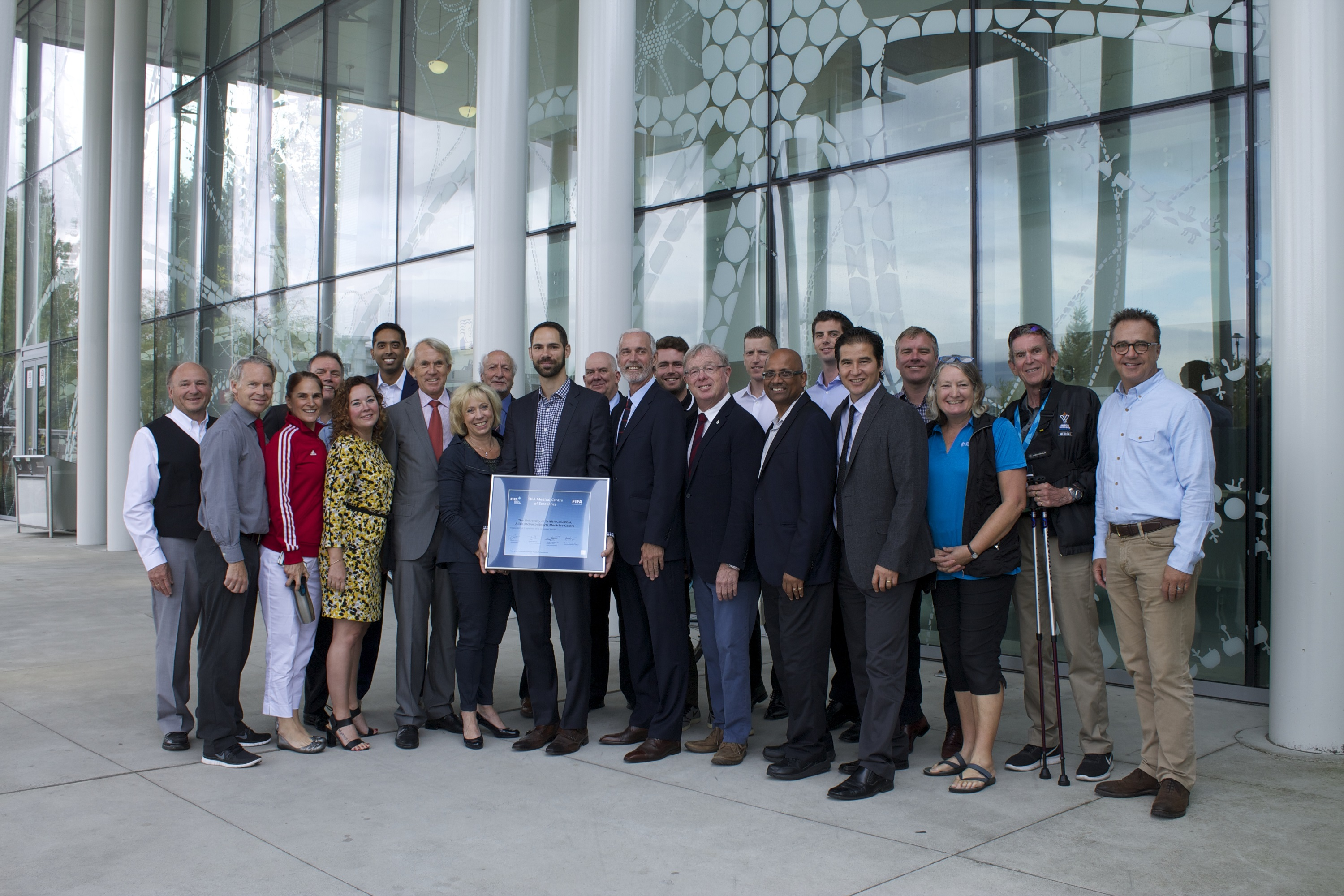 FIFA Medical Centre of Excellence Inaugurated in Vancouver